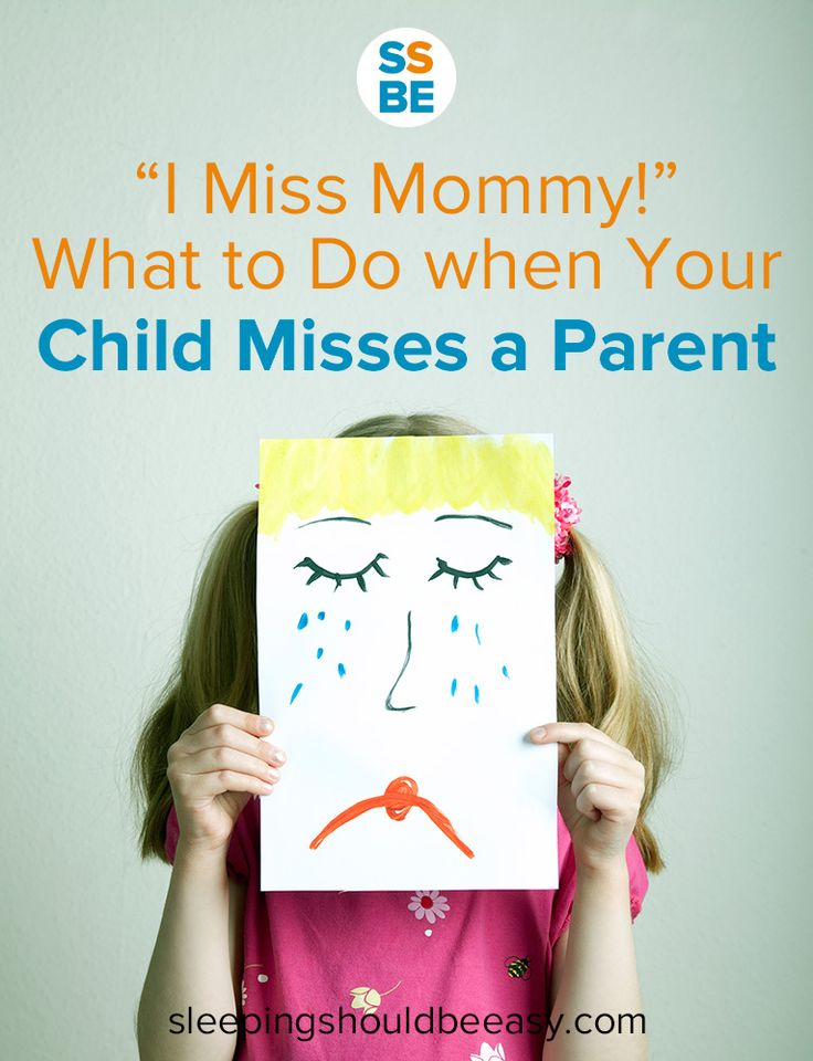 Heading out of town? Working long hours? Your kids will likely miss having you around. Click here to read what to do when your child misses a parent. #parenting
