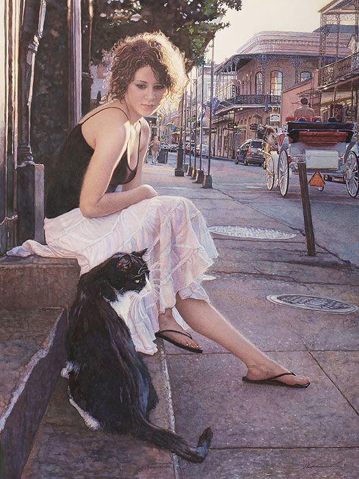 Companions of the Big Easy By Steve Hanks Published by The Greenwich Workshop