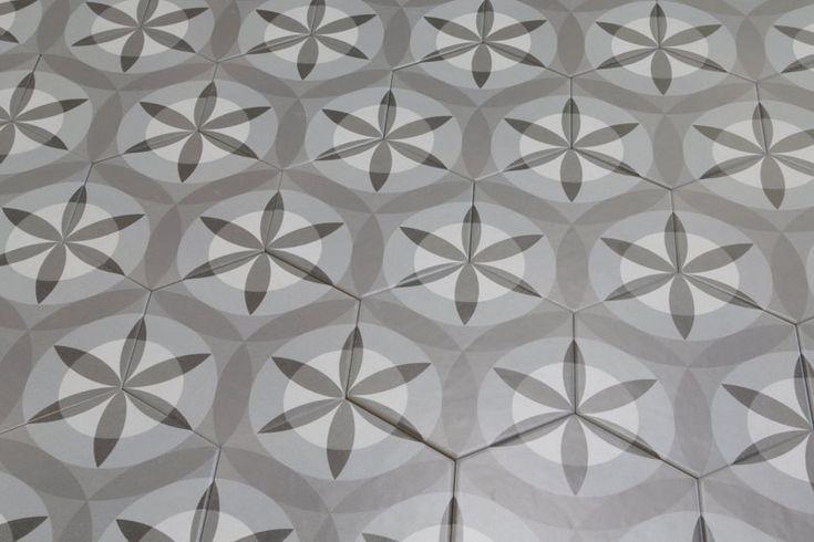 Hexagon Nature 17.5x20cm - Tons of Tiles