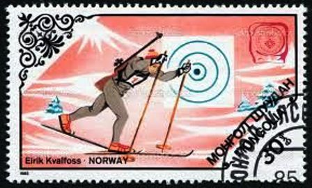 Mongolia-Olimpíadas de Invierno Sarajevo 1984-Biatlón