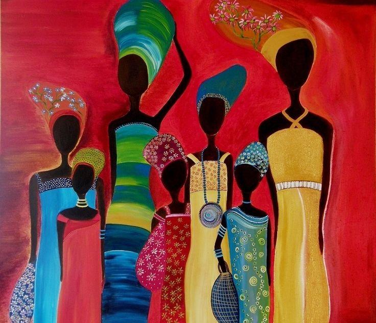 afrikaanse schilderijen - Google zoeken