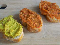: PATÉS VEGETALES -Pate de lentejas y coco -Paté de tomate y almendras con…
