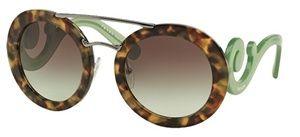 Óculos de sol Prada Baroque Evolution 13SS Havana Verde
