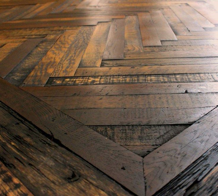 Use All Different Types Of Scrap Wood In A Herringbone