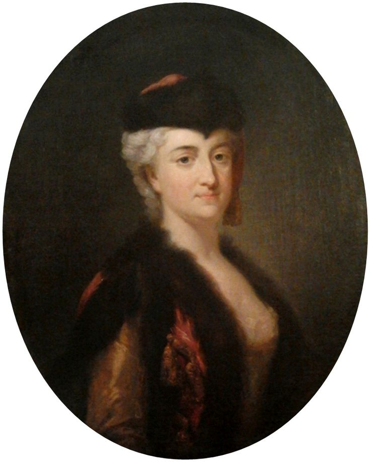 Bacciarelli - Konstancja Czartoryska in Polish dress, circa 1758
