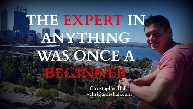 Every EXPERT was once a  BEGINNER #quote #InternetMarketing #SocialMediaMarketing