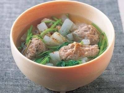 いわしのつみれ汁 レシピ 清水 信子さん|【みんなのきょうの料理】おいしいレシピや献立を探そう