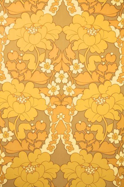 229 best retro wallpaper images on pinterest - 80 s floral wallpaper ...