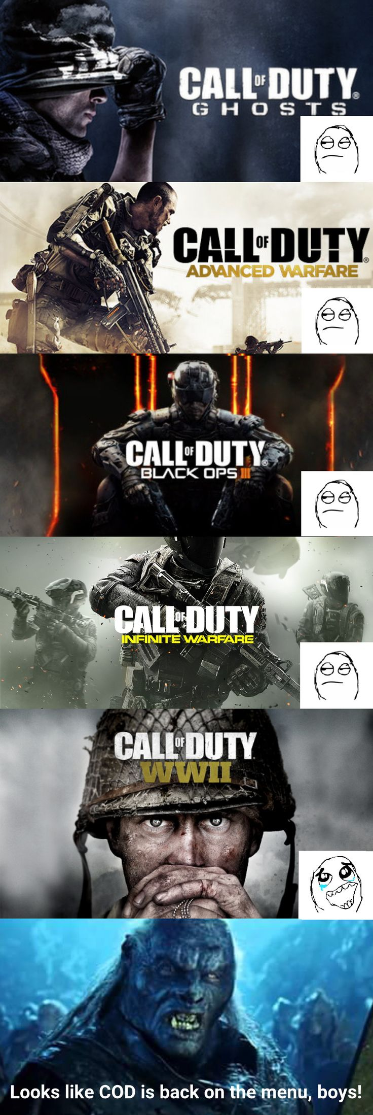Funny call of duty 2 pictures download funny call of duty quotes - Me After The Call Of Duty Wwii Announcement