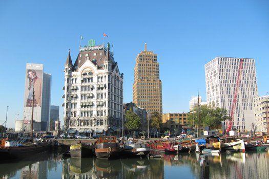Eén of twee overnachtingen in Quartier du Port met ontbijt en gastronomisch 5-gangendiner vanaf €69,00! #stedentrip #Rotterdam #boetiekhotel #hotel #Nederland #reizen #travel #travelbird