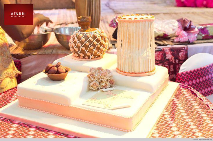 Nigerian Traditional Engagement Wedding Cakes Gorgeous Looking Yummy Tasting Cake Ideas