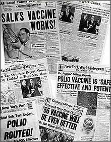 Jonas Salk invented the polio vaccine and didn't patent it, making it affordable for millions of people. He missed out on earning $7 billion.