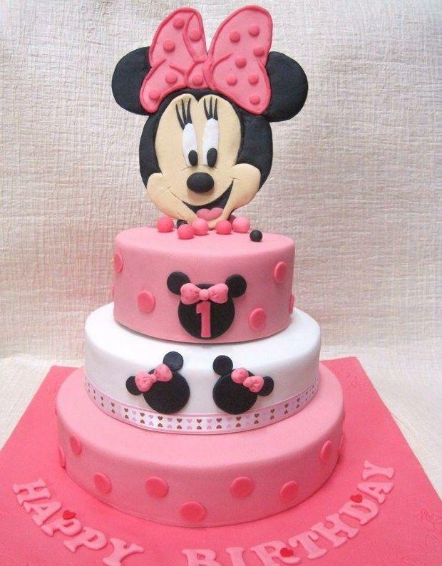 Mini Maus Torte - Mädchen Geburtstag