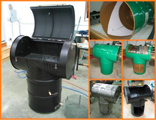 How To Make A 55 Gallon Drum Smoker...http://homestead-and-survival.com/how-to-make-a-55-gallon-drum-smoker/