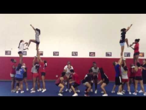 Cheer Pyramid to all I do is win
