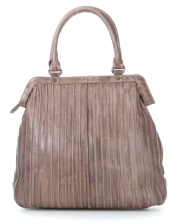 wardow.com - #fFredsBruder, TuckTuck Handtasche Leder altrosa 34 cm #autumn #fall #bag #wardow