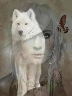 .wolf art