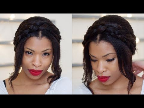 milkmaid braid youtube tutorial