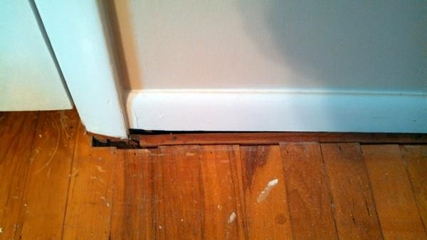 How To Handle Gaps Between Floor And Wall Trim Doityourself Com