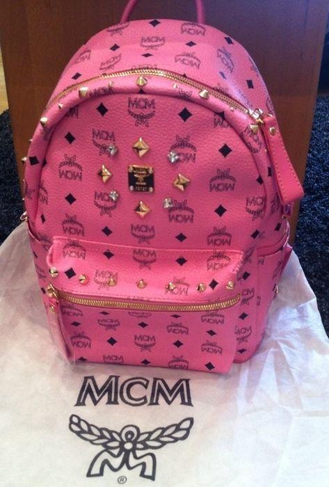 MCM Rucksack pink - kleiderkreisel.de