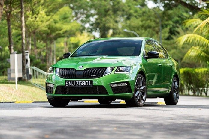 Skoda Octavia Rs245 Is A Red Hot Czech Stormer Thats Ready To Rock