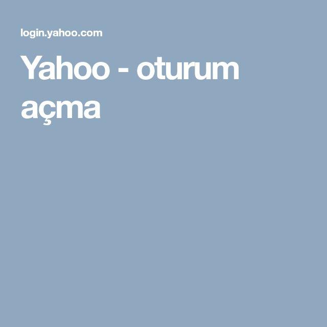 Yahoo - oturum açma