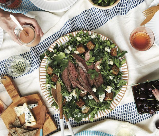 Recipe of the Week: Flank Steak Salad with Rhubarb Vinaigrette | Seattle Magazine