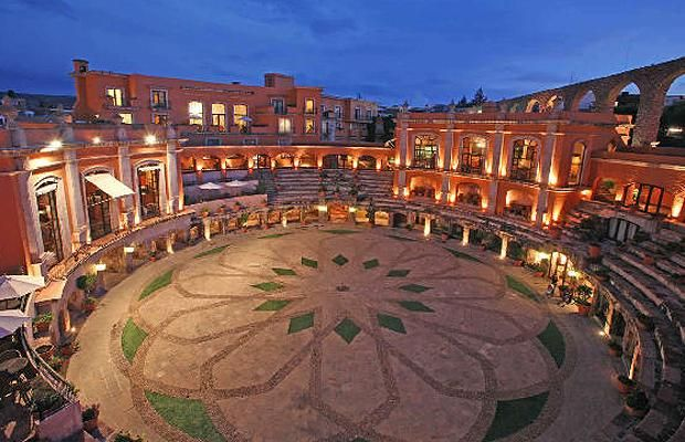 Quinta Real Zacatecas, Mexico   Rooms at this hotel overlook a beautifully-restored bullfighting arena in the     central Mexican city of Zacatecas