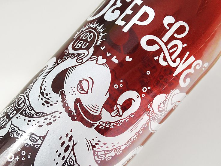 Deep Løve is a collaboration of Alebrowar and Norwegian brewery Nøgne ø. Our tasks were naming and packaging design of this unique beer. As a result, the Collaborative West Coast Belgian Rye Ipa hits the market in the bottle without traditional labels, bu…