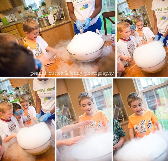 the best science party ever! This mom is awesome