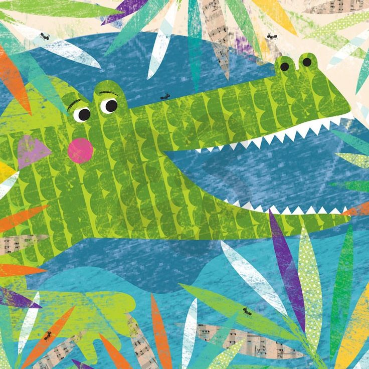 Peeking Jungle Buddies - Crocodile from Oopsy Daisy, Fine Art for Kids. Canvas wall art starting at $69. Multiple sizes and available in either an art print or canvas wall art. Additional framing options available (black, white, gold and silver).