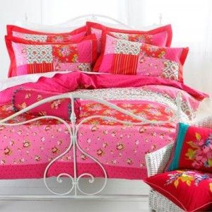how beautiful does this pink and red pip studio style bedding look itu0027s also a heck of a lot cheaper than pip studio and available in the uk click through