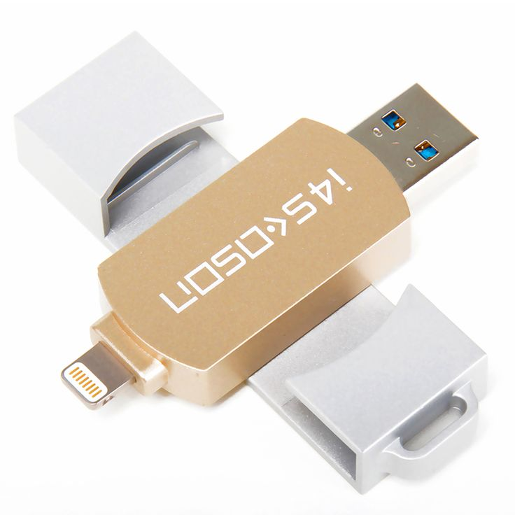 USB  Flash Drive 32GB For iPhone 6 7 6s Plus OTG USB3.0 for MFi Lightning flash drive  Metal Pen Drive U Disk