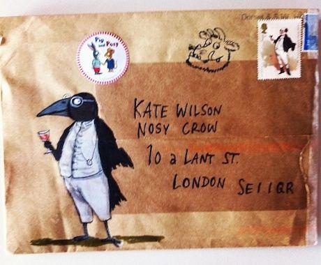 Envelopes from Axel Scheffler :: Blog :: Nosy Crow
