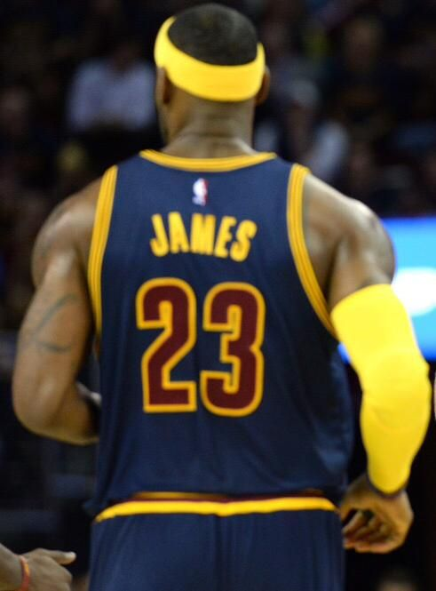 What a historic night for the King! Carrying the entire city of Cleveland on his back tonight. #ALLinCLE