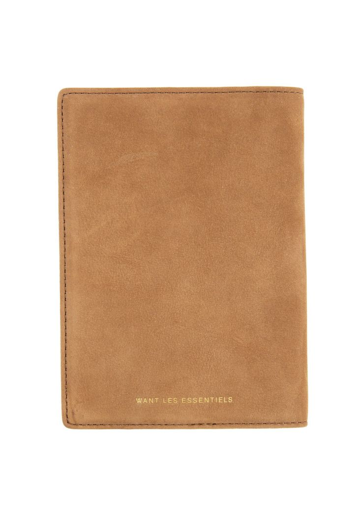 Want Les Essentiels - SS17 - Menswear // Cognac Pearson passport cover