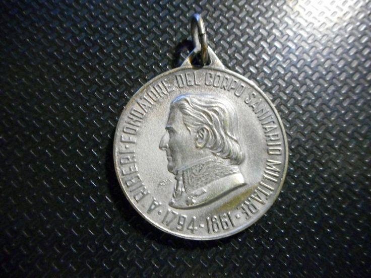 MEDAGLIA OSPEDALE MILITARE DI TORINO INTITOLATO ALESSANDRO RIBERI 1794-1861