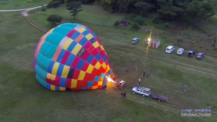 Drakensberg Ballooning in South Africa