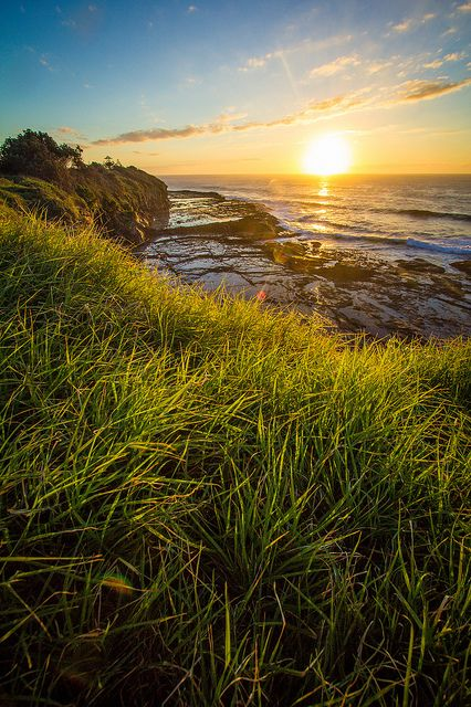 Sunrise at Black Head Point, Gerringong, New South Wales - AU