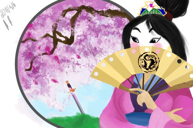 Mulan by AnaisMononoke.deviantart.com on @DeviantArt