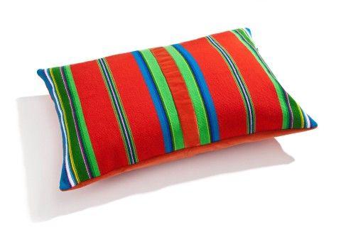 Cushion by Folka.pl. Handmade Lowicz fabric