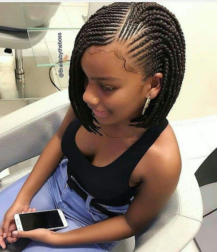 Ghanaian Hairstyles On Instagram Neatly Braided Braidsbytheboss