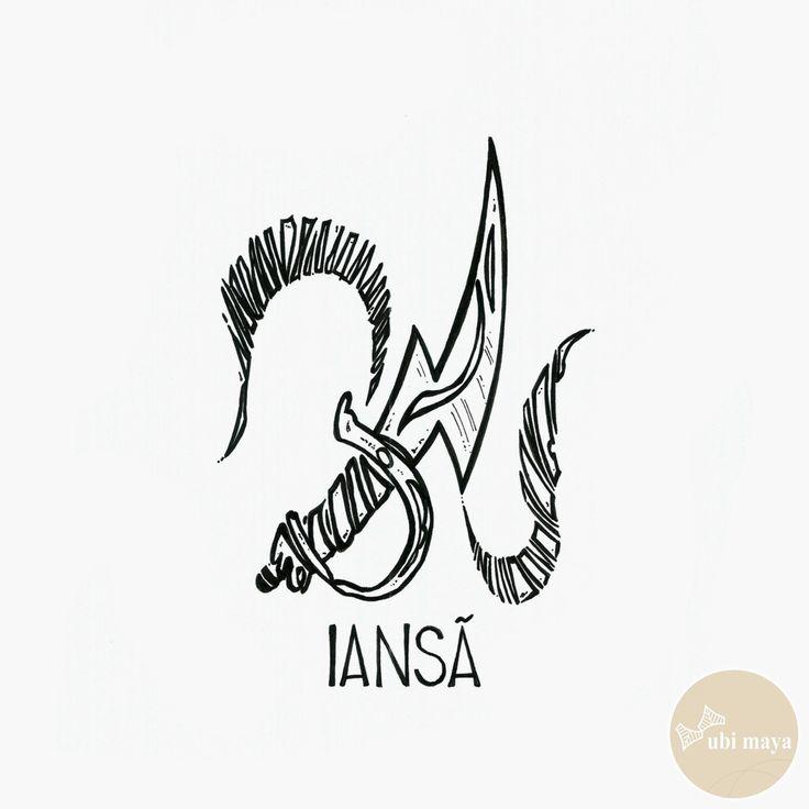 """IANSA - DA SÉRIE: """"AS ARMAS DOS ORIXÁS"""" - See https://s-media-cache-ak0.pinimg.com/originals/1e/fe/6a/1efe6a79de9f36d29a35ef17f07c2790.jpg"""