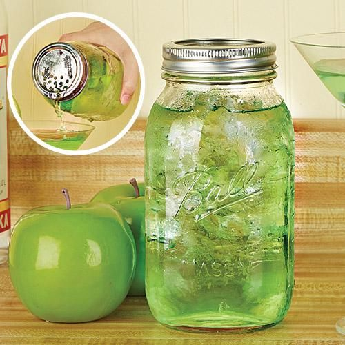 I love Mason Jars for about EVERYTHING. ;-) Country Girl here.
