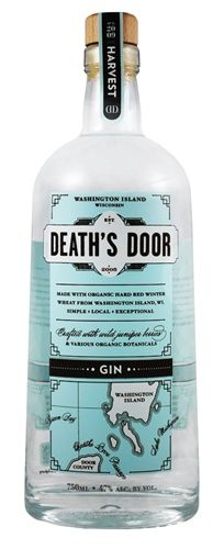 Death's Door Vodka www.boxerbranddesign.com