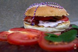 Košice, debnničkový predaj, takmer vege burger