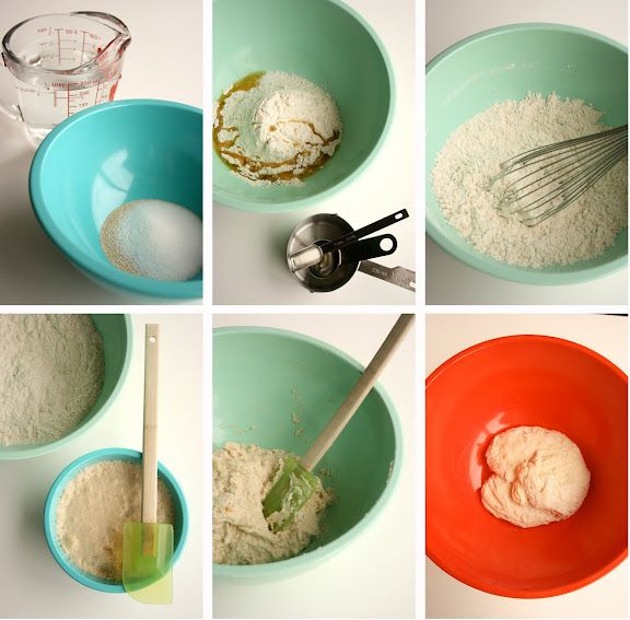homemade pizza dough in five minutes (recipe from friends who lived in Italy!)