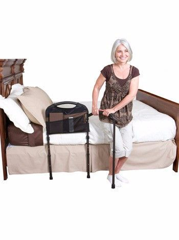 The Mobility Bed Rail by Stander was designed to accommodate both in-home and…