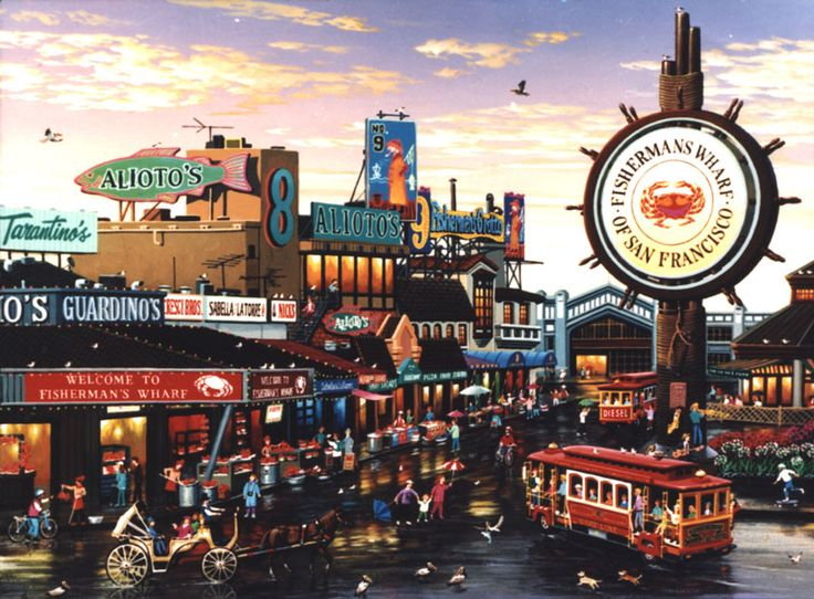 fisherman's wharf san francisco | Fisherman's Wharf is a popular tourist attraction in San Francisco.