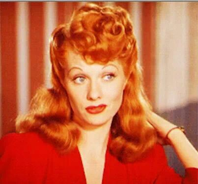Astonishing 17 Best Images About Lucille Ball On Pinterest Madame Du Barry Hairstyles For Men Maxibearus